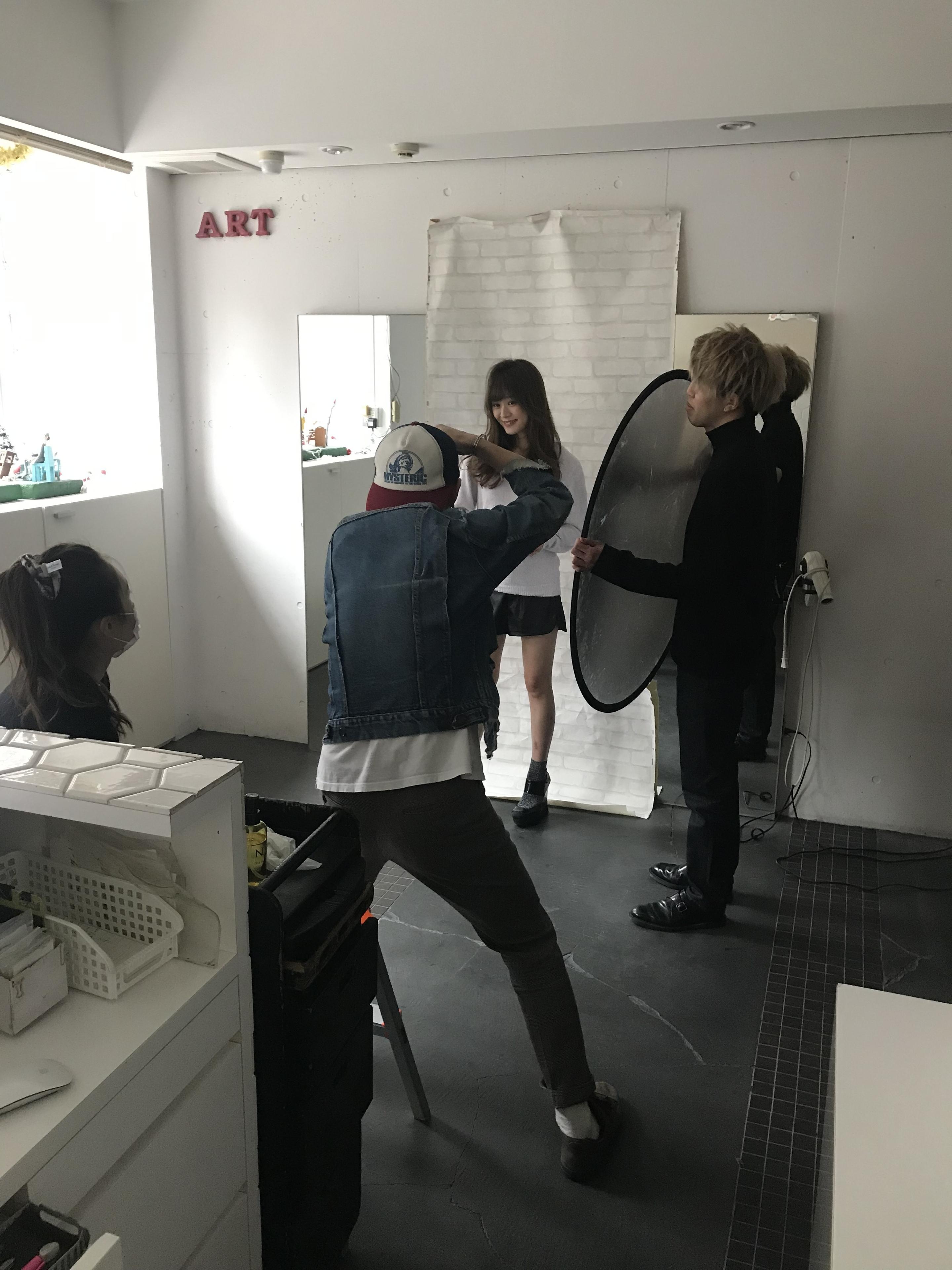 撮影の勉強!